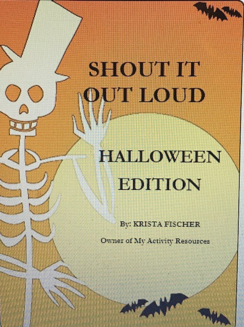 Shout It Out Loud: Halloween Edition