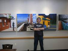 Smith art at the Cafe Gallery Cedar Hill