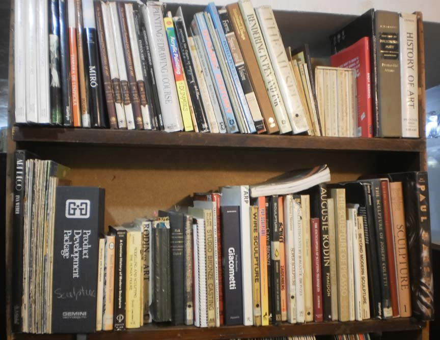 Smith art books at home