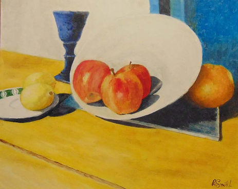 Apples and Goblet