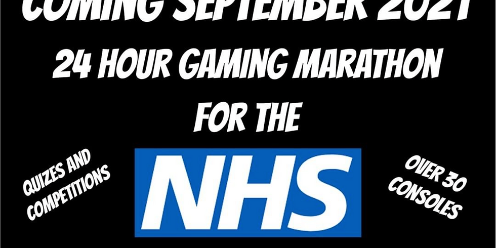 24 hour charity live stream for the NHS