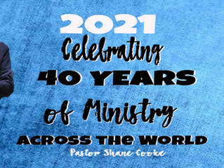 Celebrating 40 Years of Ministry  Entry #1