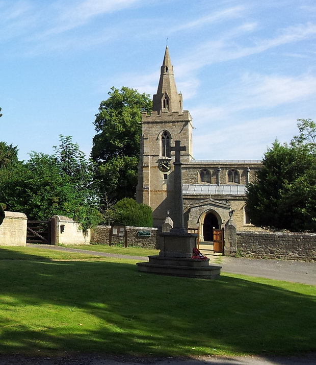 St Mary the Virgin chuch Weekley, Northamptonshire