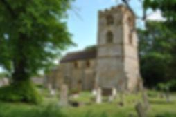 St Johnthe Baptist church, Quinton, Northants