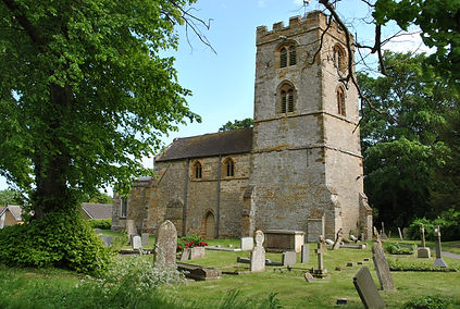 St Johnthe Baptist church, Quinton, Northants