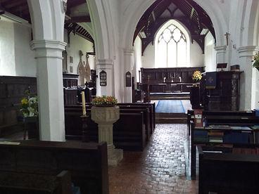 St Pete's chrch Pavenham Bedfordshire