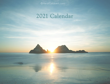 "2021  Full Photo Landscape Calendar 14.5""×11"""