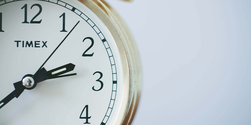 Tempo Eficiente: Tríade do Tempo (Turma 1)