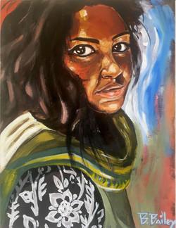 Girl from Sri Lanka