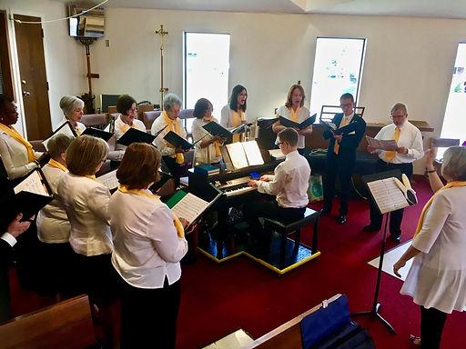 Rez choir Church of the Resurrection Hamilton COTR music ministry practice.jpg