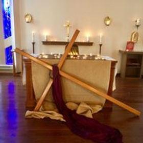 Resurrection in Lent Anglican Church Hamilton Cross Chancel Altar.jpg