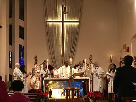 COTR Resurrection Church Rev Leon Anglican Communion Eucharist Celebration.JPG