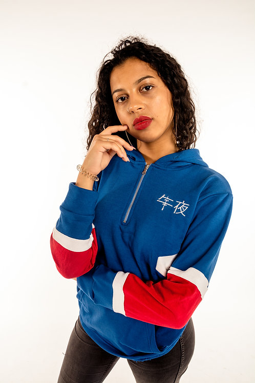 Royal Blue Flair Hoodie