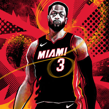 Dwyane Wade for Bleacher Report