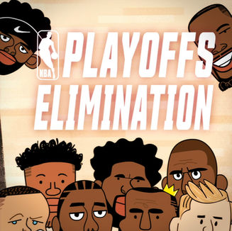 NBA Playoffs in One Minute
