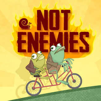 Frog and Toad: NOT ENEMIES!