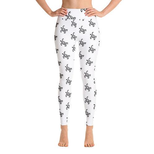 Poly Honu- Yoga Leggings