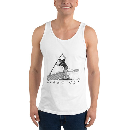 Stand Up!- Unisex Tank Top