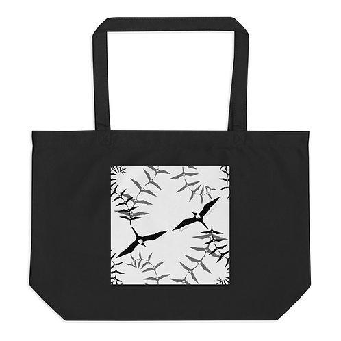 `Iwa Fern- Large organic tote bag