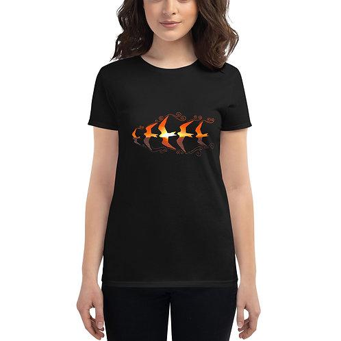 Manu o Ku Sailing Sunset- Women's short sleeve t-shirt