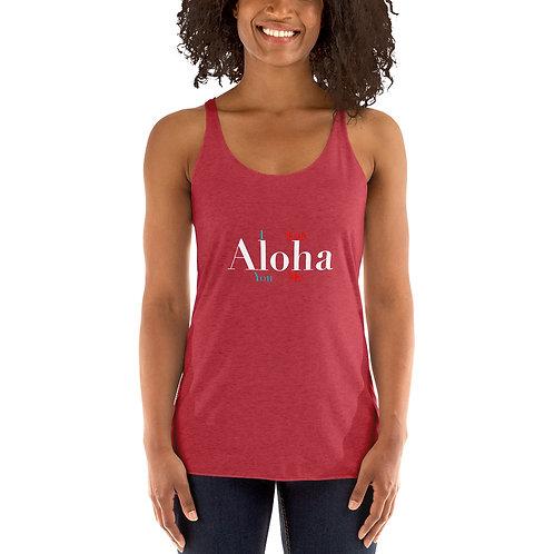 I Aloha You! Women's Racerback Tank