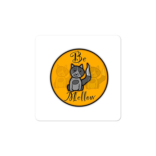 Mellow Cat Bubble-free stickers