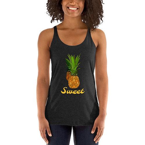 Sweet Pineapple- Women's Racerback Tank
