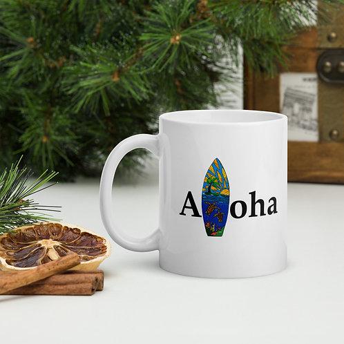 Aloha Board- Mug