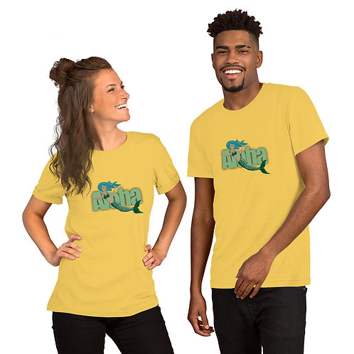 Aloha Mermaid- Short-Sleeve Unisex T-Shirt