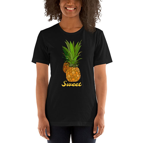 Sweet Pineapple- Short-Sleeve Unisex T-Shirt