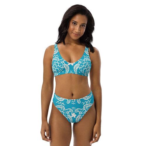 Honu Kakau- Recycled high-waisted bikini