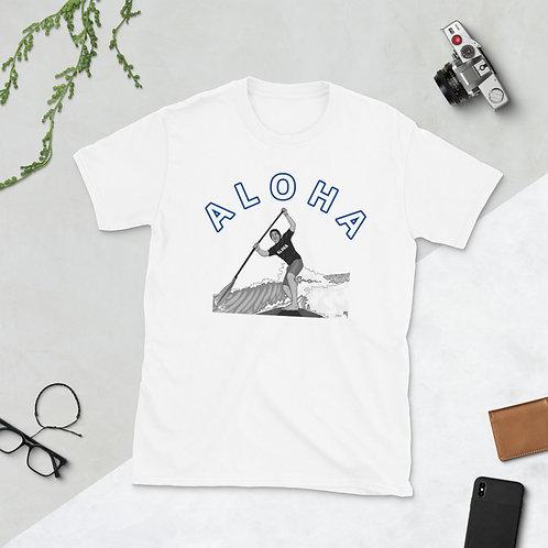 ALOHA SUP- Short-Sleeve Unisex T-Shirt