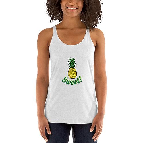 Sweet Pineapple!- Women's Racerback Tank