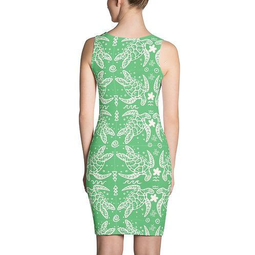 Honu- Sublimation Cut & Sew Dress