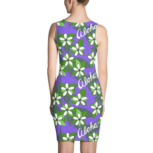 Aloha Tiare- Sublimation Cut & Sew Dress