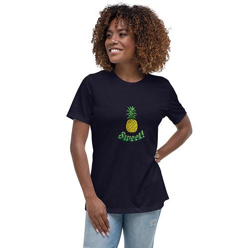 Sweet Pineapple!- Women's Relaxed T-Shirt