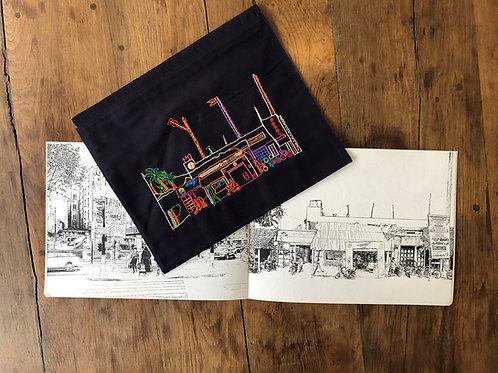 Frédéric Delangle Livre de coloriage et pochette brodée