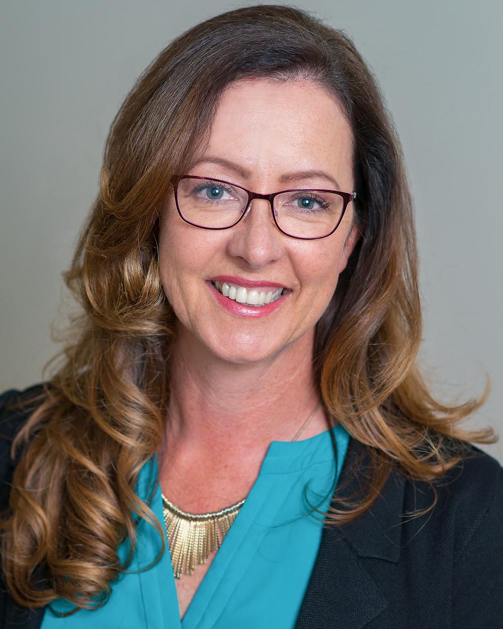 headshot of Christine Bechtel