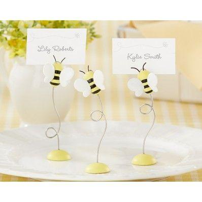 Matrimonio dolci come il miele: segnaposti in acciaio