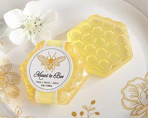 Matrimonio dolci come il miele: bomboniera saponetta
