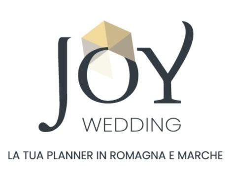 Nuovo logo di Joy Wedding - La tua Planner in Romagna e Marche