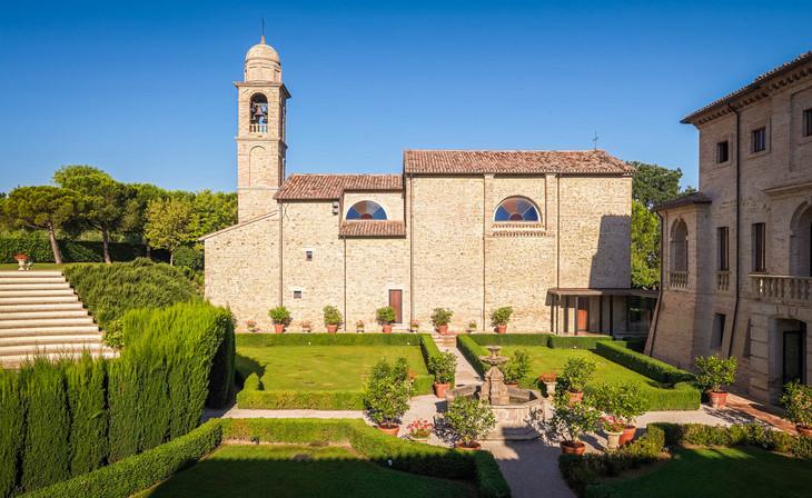 Villa Berloni giardino interno