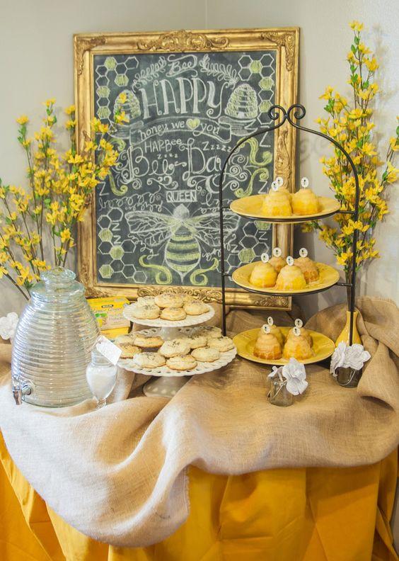 Matrimonio dolci come il miele: sweet table tema miele