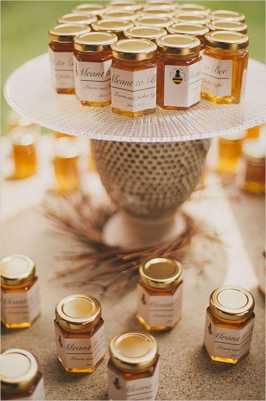 Matrimonio dolci come il miele: bomboniere di miele