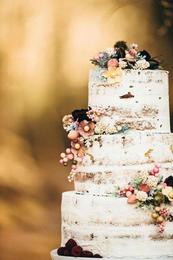 WEDDING CAKE BOHO CHIC
