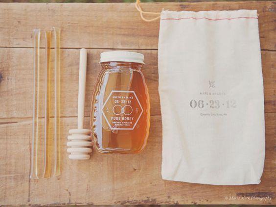 Matrimonio dolci come il miele: Partecipazione su iuta