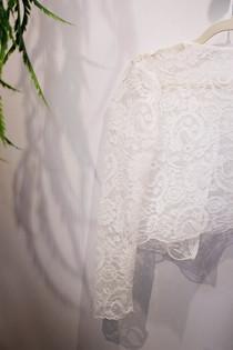 Bianca Collezione Milano dettaglio in pizzo abito da sposa