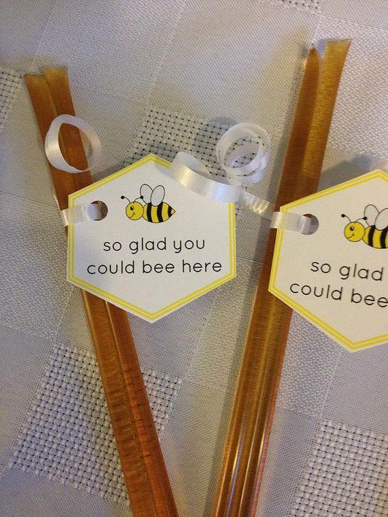 Matrimonio dolci come il miele: tag segnaposto
