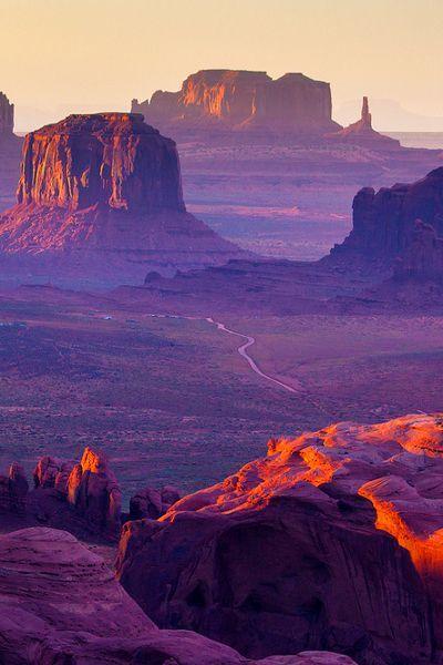 Consigli per la luna di miele perfetta: Hunts Mesa, Monument Valley, Utah Arizona