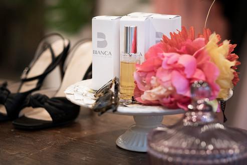 Cokelicò Boutique dettaglio profumo Bianca